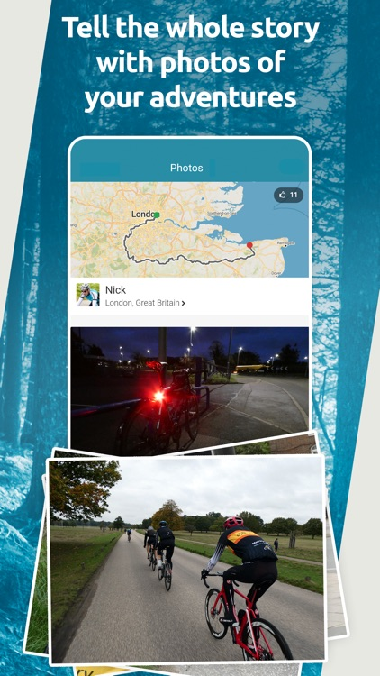 Map My Tracks: walking tracker screenshot-4