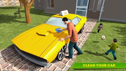 Virtual Single Dad Taxi Driver screenshot 4