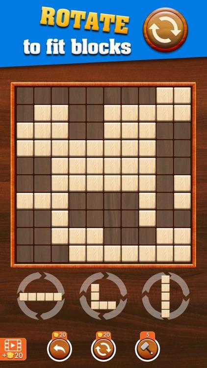Woody Extreme Block Puzzle