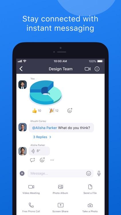 ZOOM Cloud Meetings screenshot-4