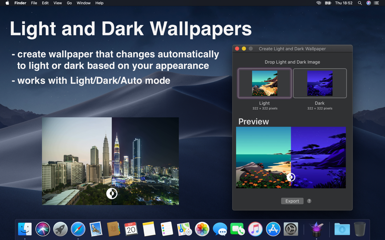 Dynaper-Dynamic Wallpapers 1.5 Mac 破解版 动态壁纸制作软件