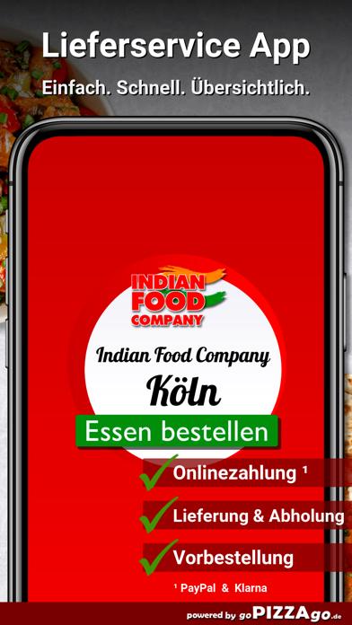 Indian Food Company Köln screenshot 1