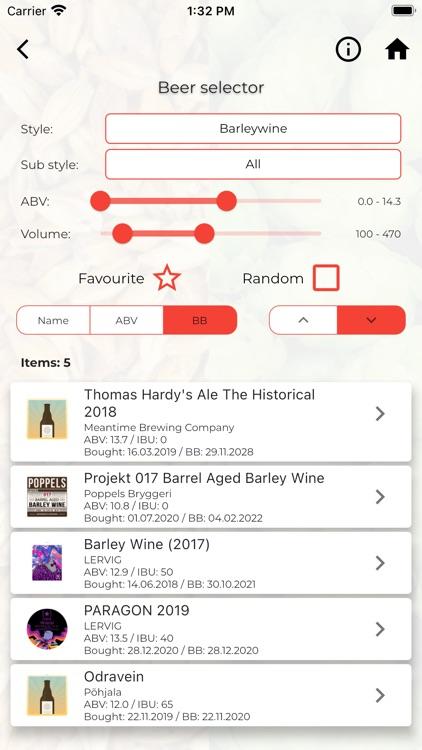 Beers Of Mine screenshot-8