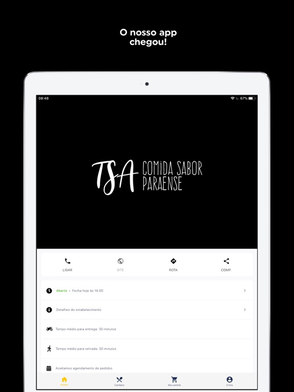 TSA - Comida Sabor Paraense screenshot 7
