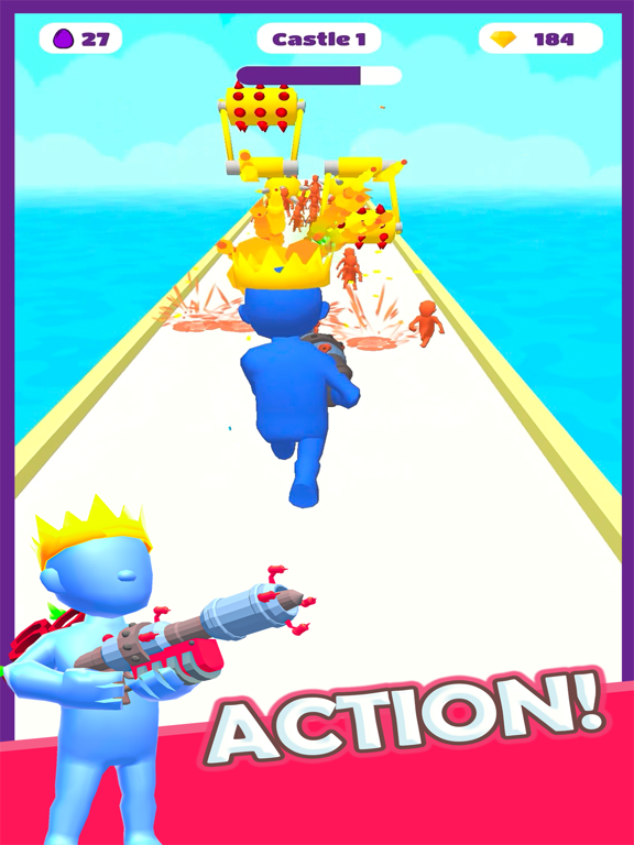 Boom Runner - Tower Defense 3D screenshot 8