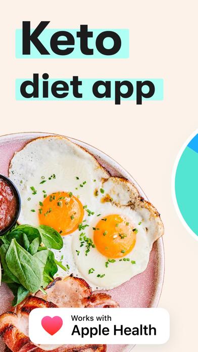 Keto Diet App ダイエット, レシピ, 体重管理のおすすめ画像1
