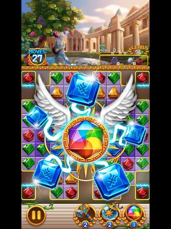 Jewel Athena: Match3 Puzzleのおすすめ画像2