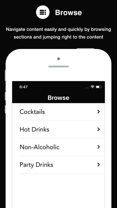 Bartender's Bible.. Screenshot