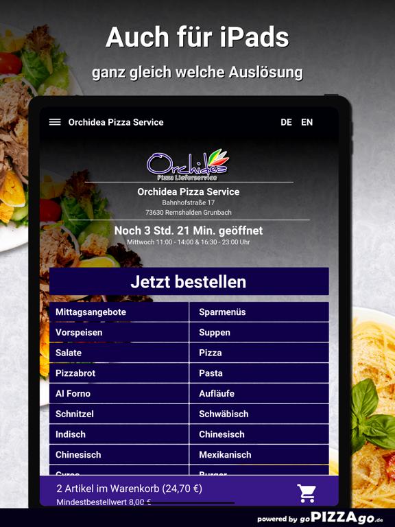 Orchidea Pizza Remshalden screenshot 7