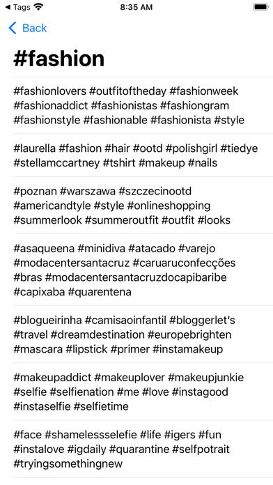 InsTAG - Hashtag for Instagramلقطة شاشة2