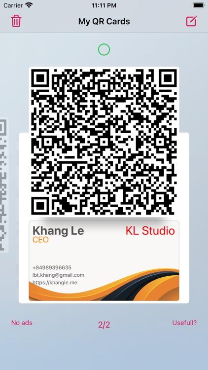 Contactless Business Card screenshot-5