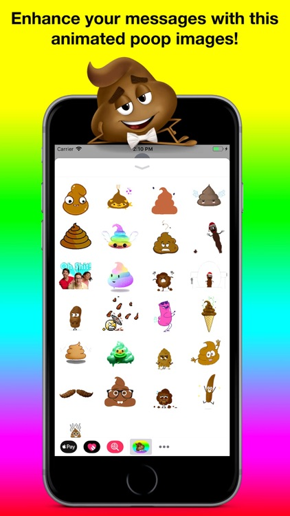 Animated Poop Stickers Pro