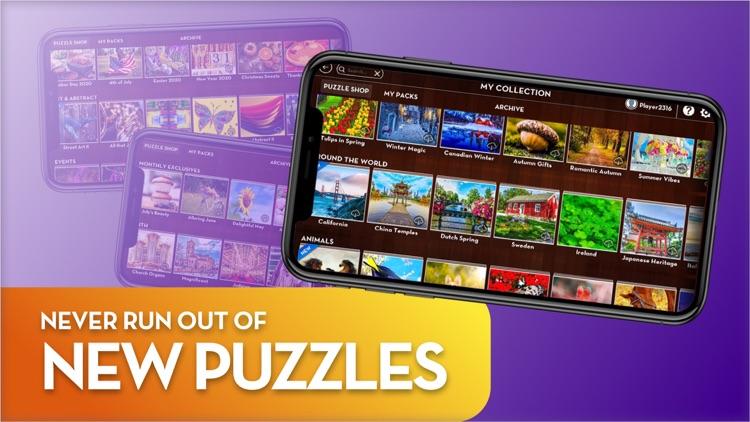 Epic Jigsaw Puzzles: HD Jigsaw screenshot-5