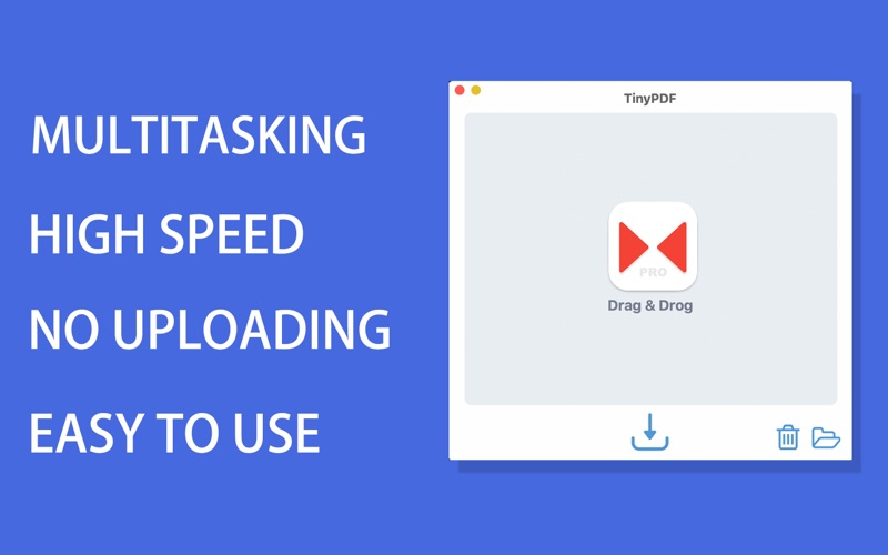 TinyPDF Pro - PDF Компрессор скриншот программы 2