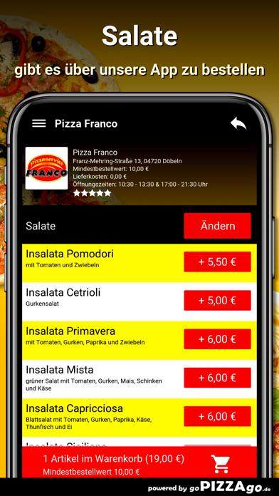 Pizza Franco Döbeln screenshot 6