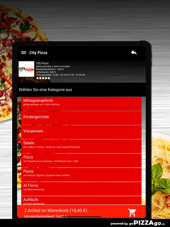 City Pizza Arnstadt screenshot 8