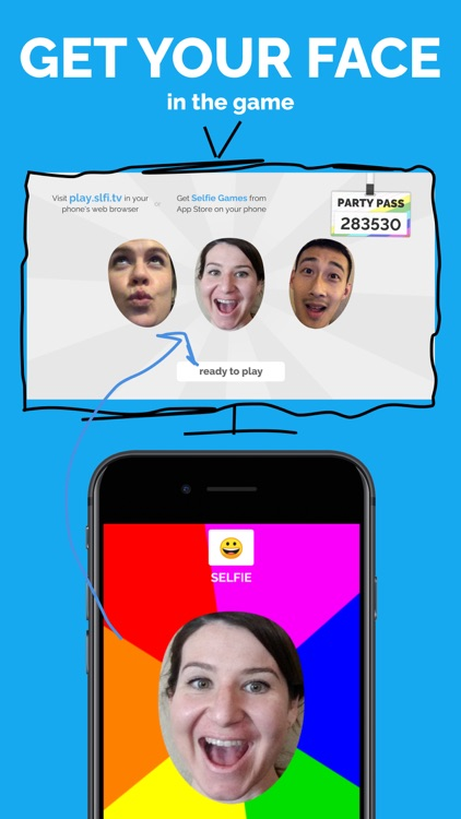 Selfie Games: A TV Party Game screenshot-7