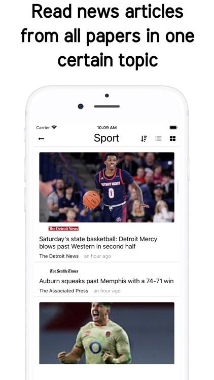 Newsstand US - Daily US News screenshot-5