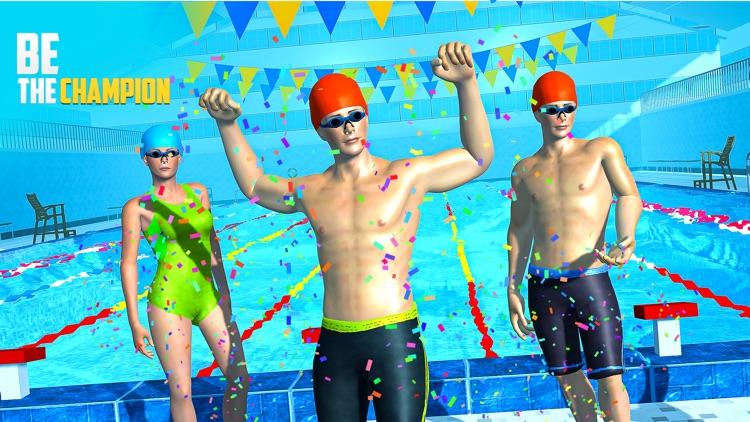 Water Swimming Pool Stunt Race screenshot-5