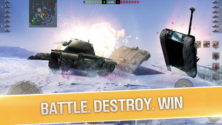 World of Tanks Blitz 3D War screenshot-3
