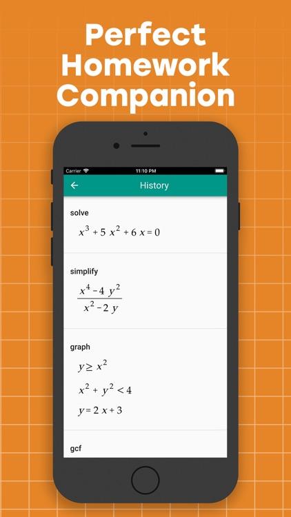 Algebrator: Camera Math Solver screenshot-5