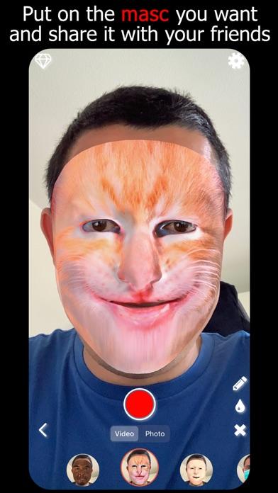 Masketor Face Mask Maker App screenshot 1