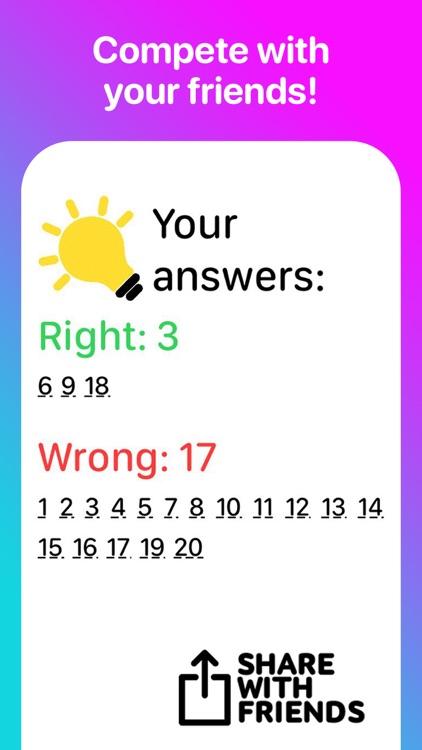 Light IQ: logic riddles test screenshot-3