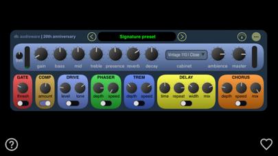 20th Anniversary - Guitar Amp Screenshot