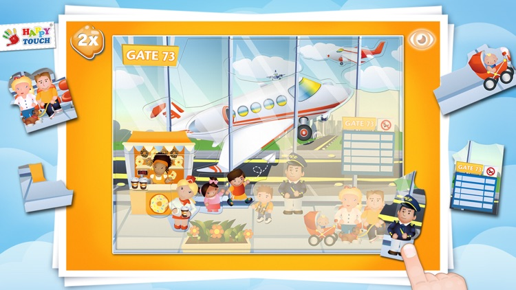 AIRCRAFT-PUZZLE Happytouch® screenshot-3