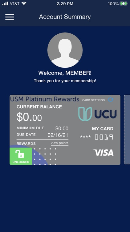 UCU Credit Cards
