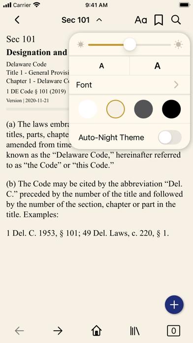 Delaware Code (by PocketLaw) screenshot 3