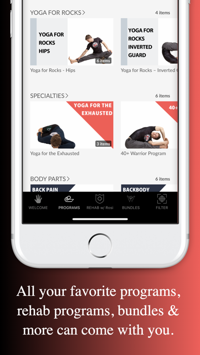 Yoga For BJJ Screenshot