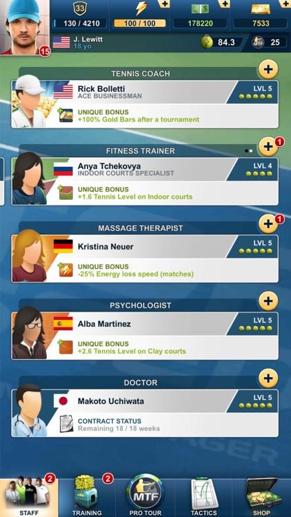 TOP SEED Tennis Manager 2021 screenshot-8