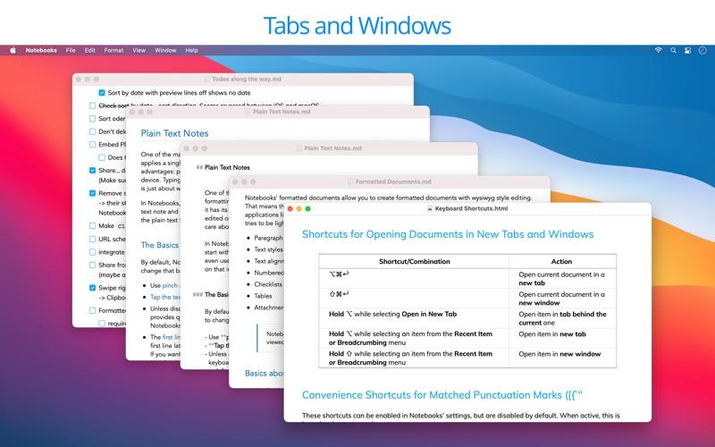 Notebooks: Write & Organize скриншот программы 4