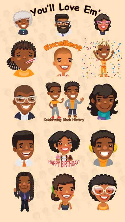 African American AAeMojis