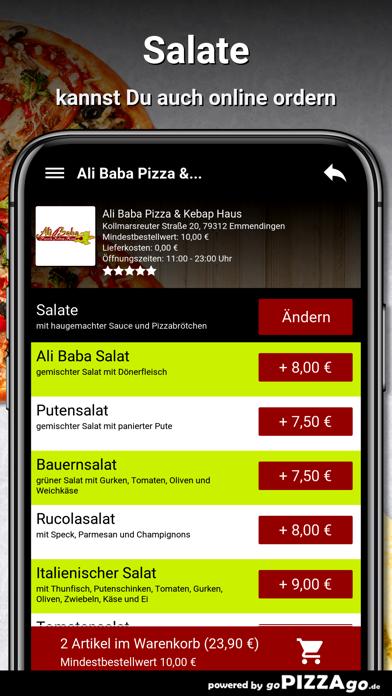 Ali Baba Pizza Emmendingen screenshot 5