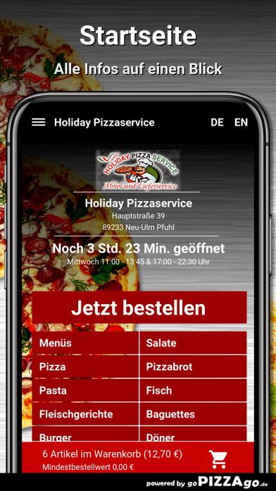 Holiday Pizza Neu-Ulm Pfuhl screenshot 3