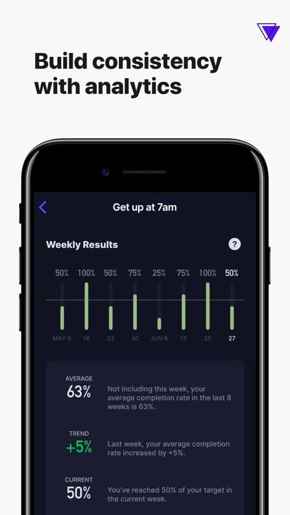 Higher Goals - Habit Tracker screenshot-4