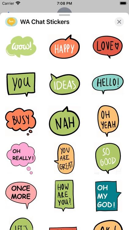WA Chat Stickers screenshot-4