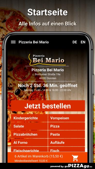 Pizzeria Bei Mario Dorsten screenshot 2