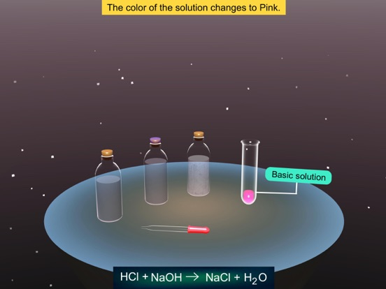 Reaction of Acids with Bases screenshot 13