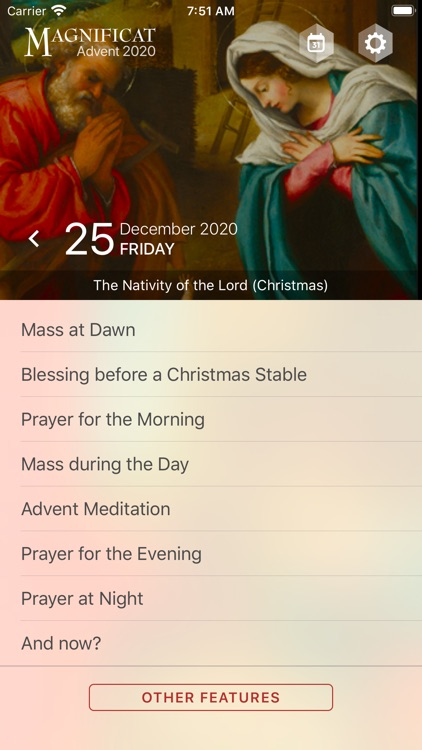 Advent Magnificat 2020 screenshot-3