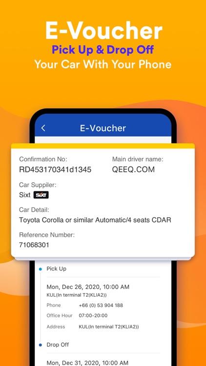 QEEQ Car Rental -  Rental Cars screenshot-7