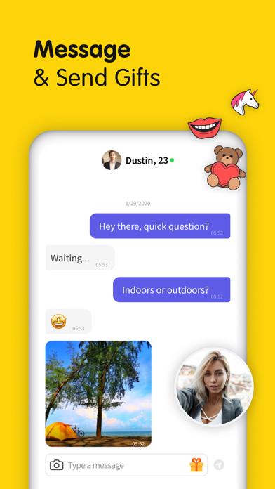 Gaze - Video Chat Screenshot