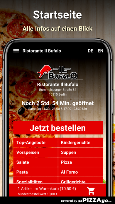 Ristorante Il Bufalo Berlin screenshot 2