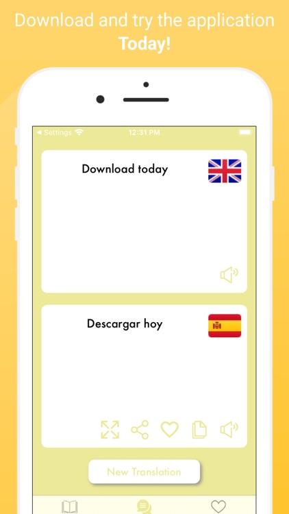 Hello Hola  Spanish Translator