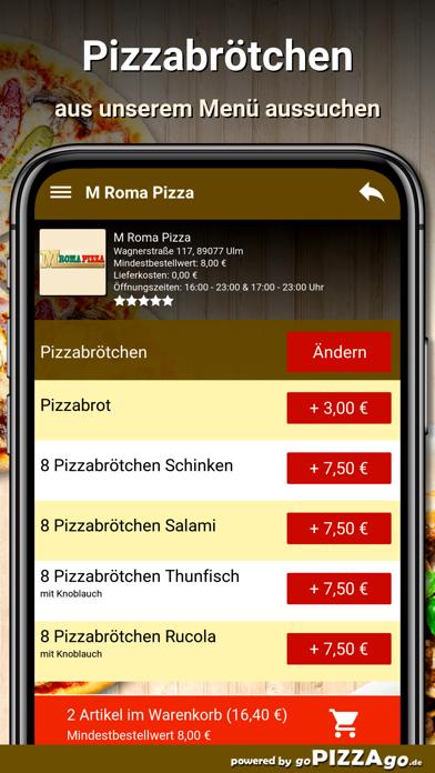 M Roma Pizza Ulm screenshot 5