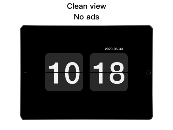 Digital Retro Clock screenshot 5