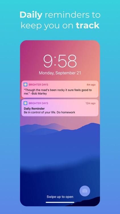 Brighter Days - Self Help screenshot-4