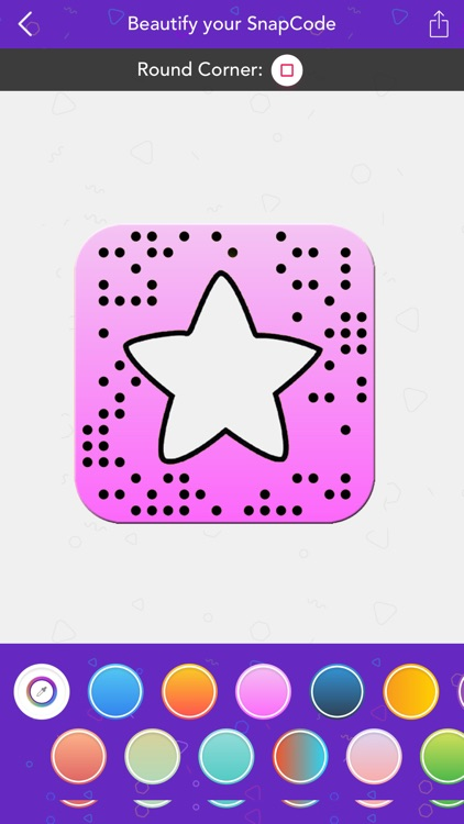 Beautify your SnapCode screenshot-3